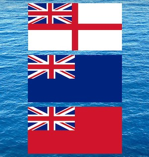 Ensigns – Red, White or Blue?
